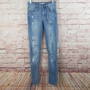 KanCan Distressed Jean's Size 23
